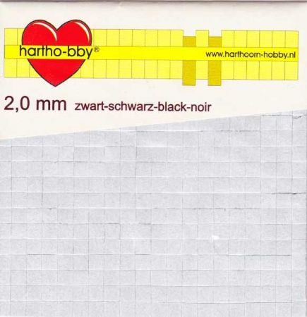 400 2mm Thick Double Sided Black Adhesive Foam Pads